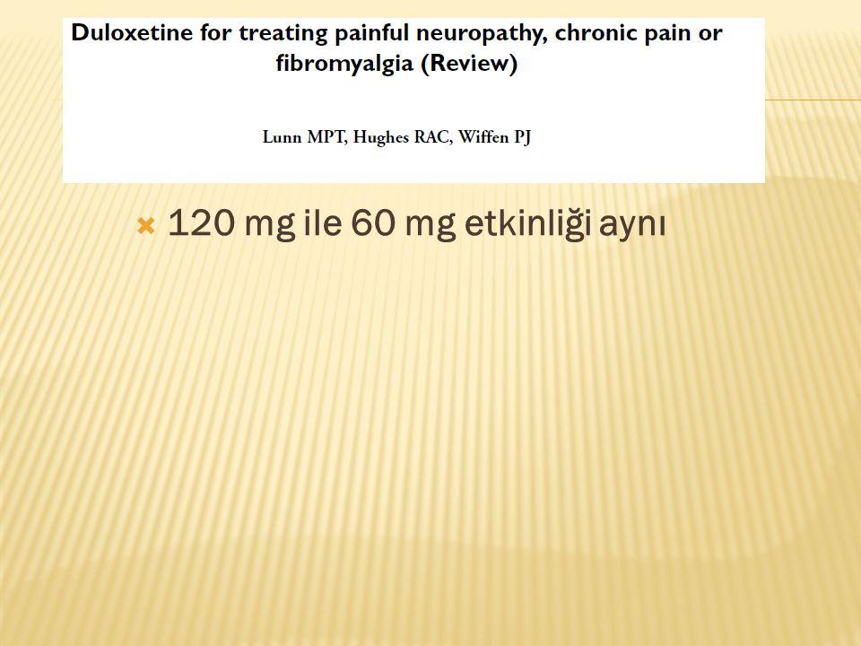 120 mg ile 60 mg etkinliği aynı