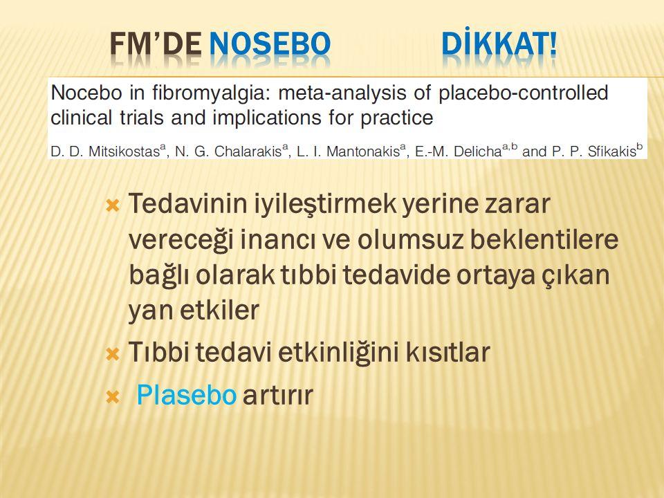 FM'de NOSEBO dİkkat!