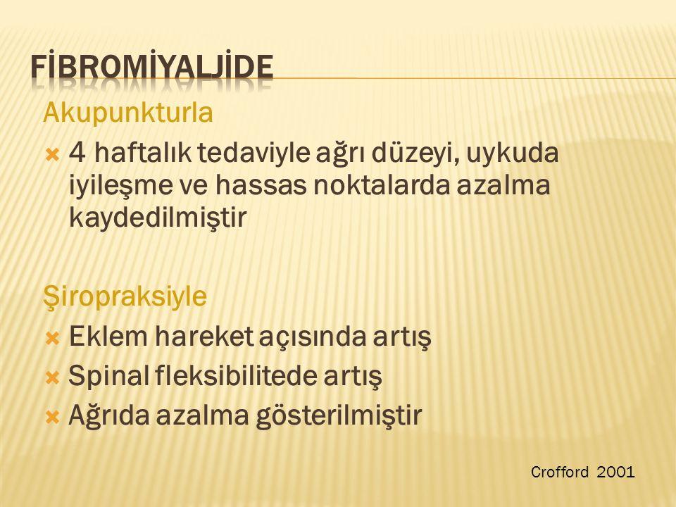 FİBROMİYALJİDE Akupunkturla