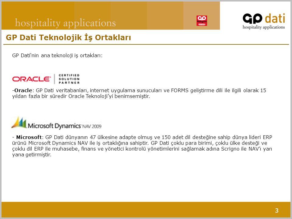 GP Dati Teknolojik İş Ortakları