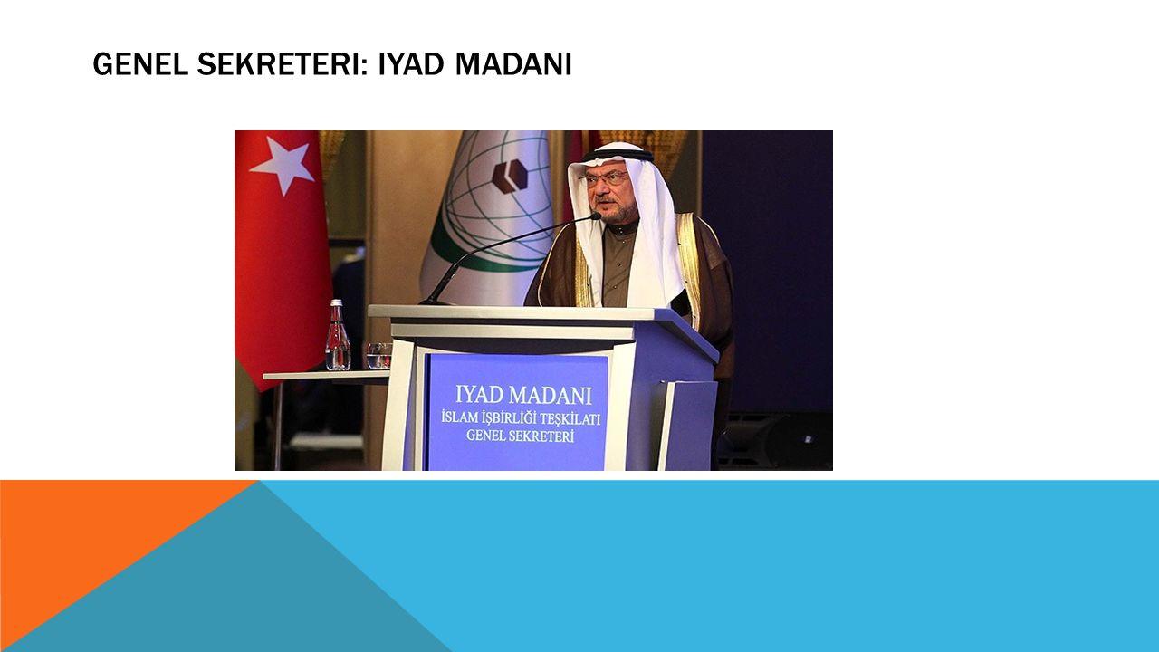 Genel Sekreteri: Iyad Madani