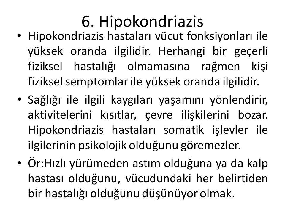 6. Hipokondriazis