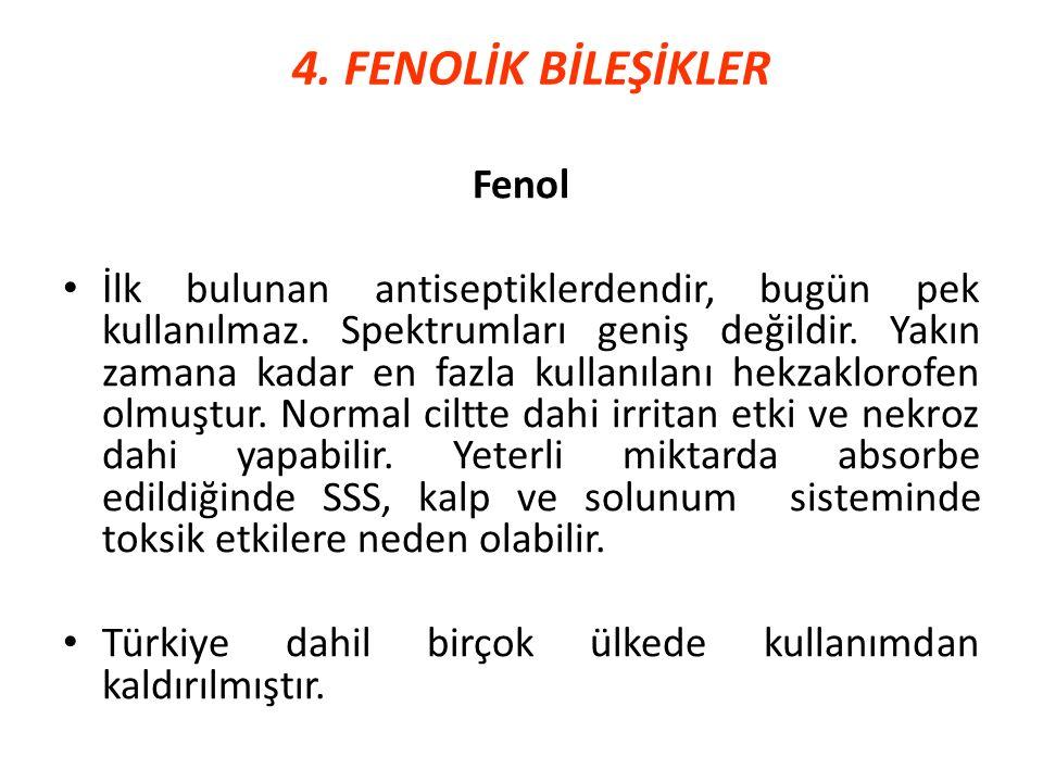 4. FENOLİK BİLEŞİKLER Fenol