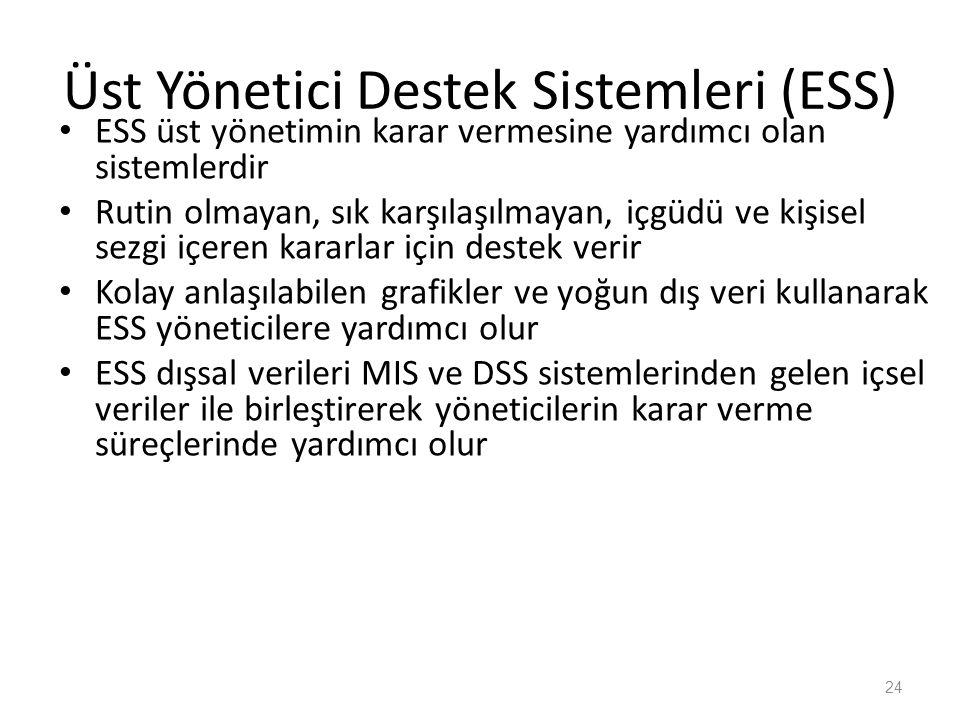 Üst Yönetici Destek Sistemleri (ESS)
