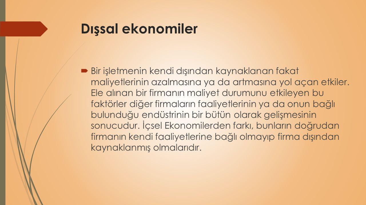 Dışsal ekonomiler