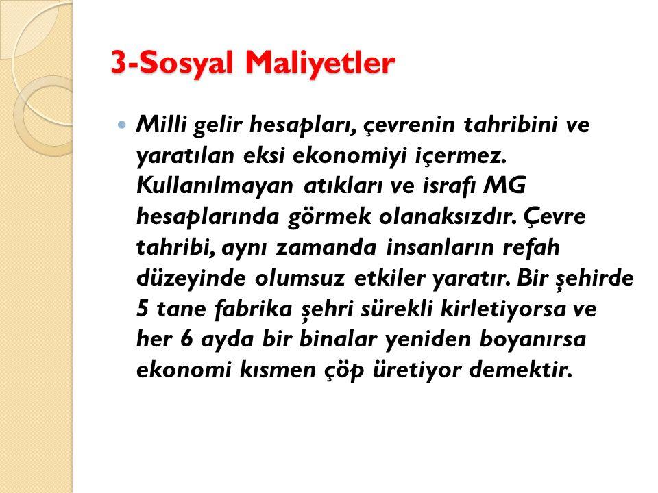 3-Sosyal Maliyetler
