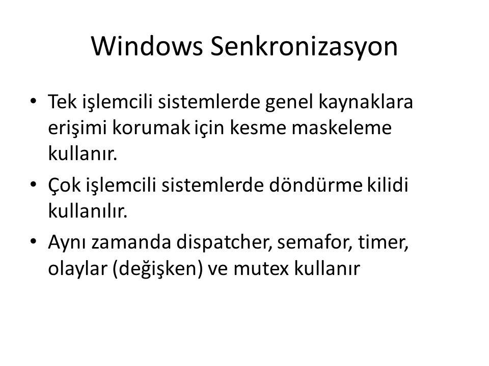 Windows Senkronizasyon