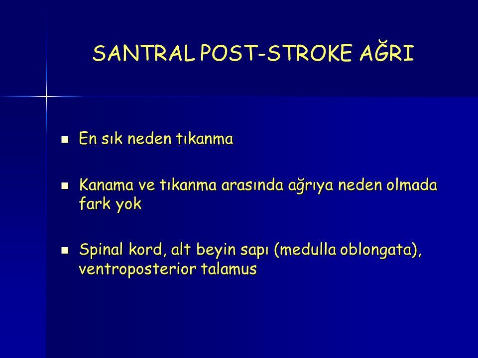 SANTRAL POST-STROKE AĞRI