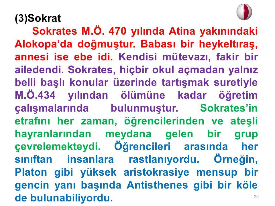 (3)Sokrat