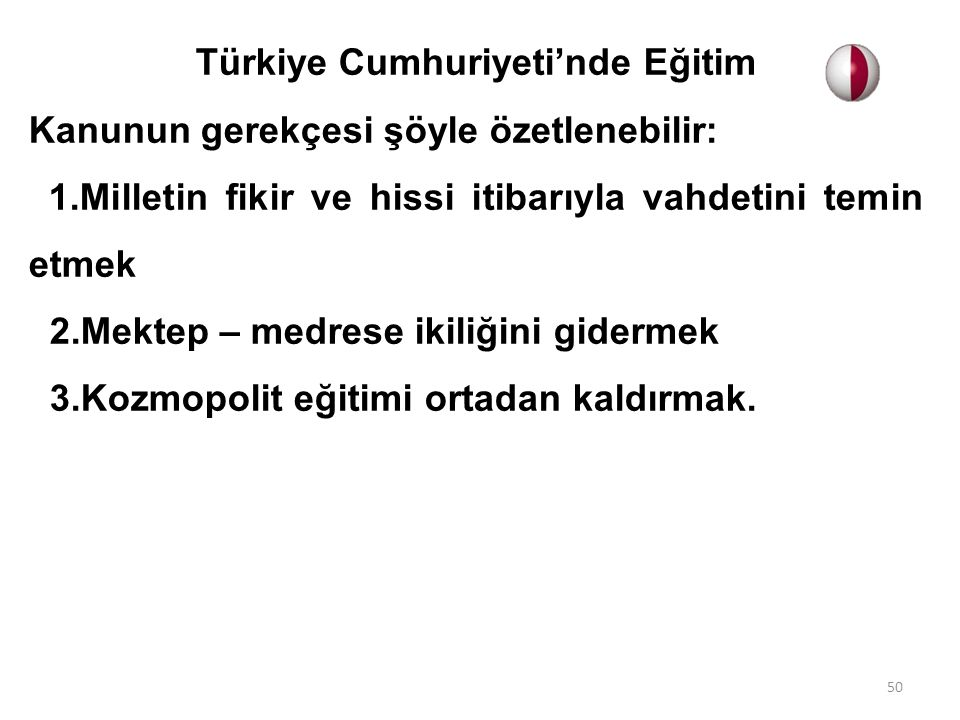 Türkiye Cumhuriyeti'nde Eğitim