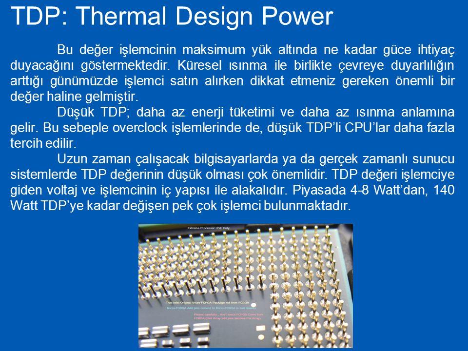 TDP: Thermal Design Power