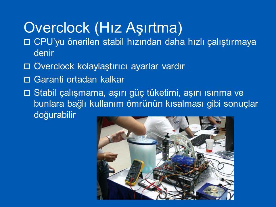 Overclock (Hız Aşırtma)