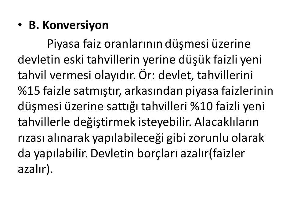 B. Konversiyon