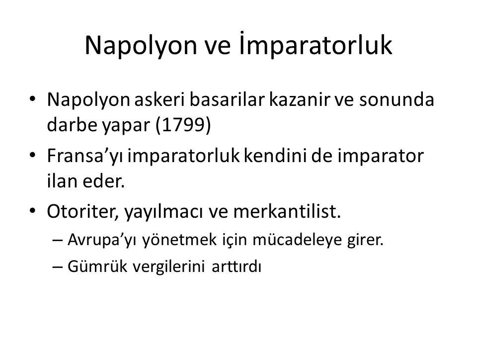 Napolyon ve İmparatorluk
