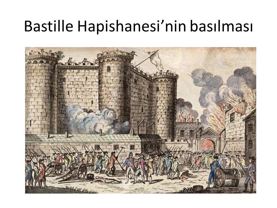 Bastille Hapishanesi'nin basılması