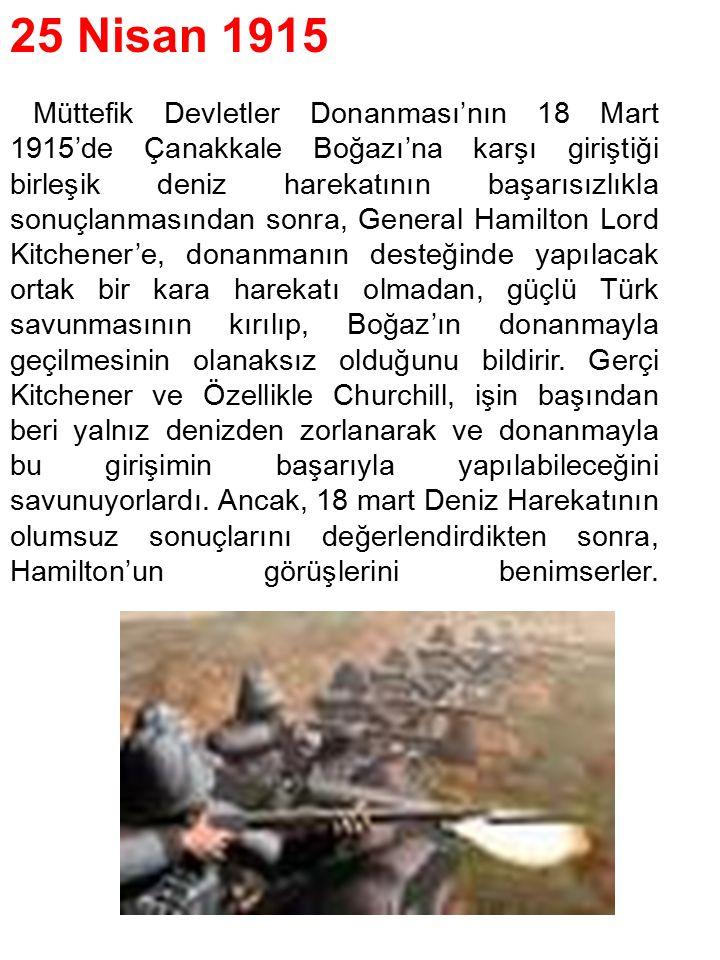 25 Nisan 1915