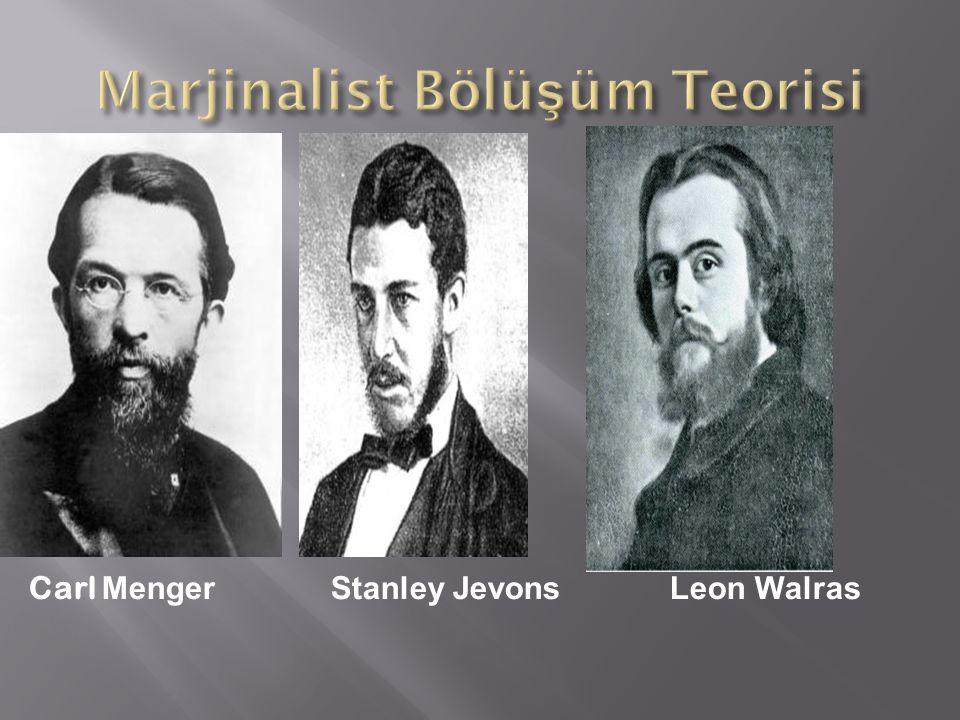 Marjinalist Bölüşüm Teorisi