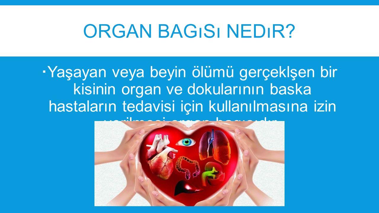 Organ bagısı nedır