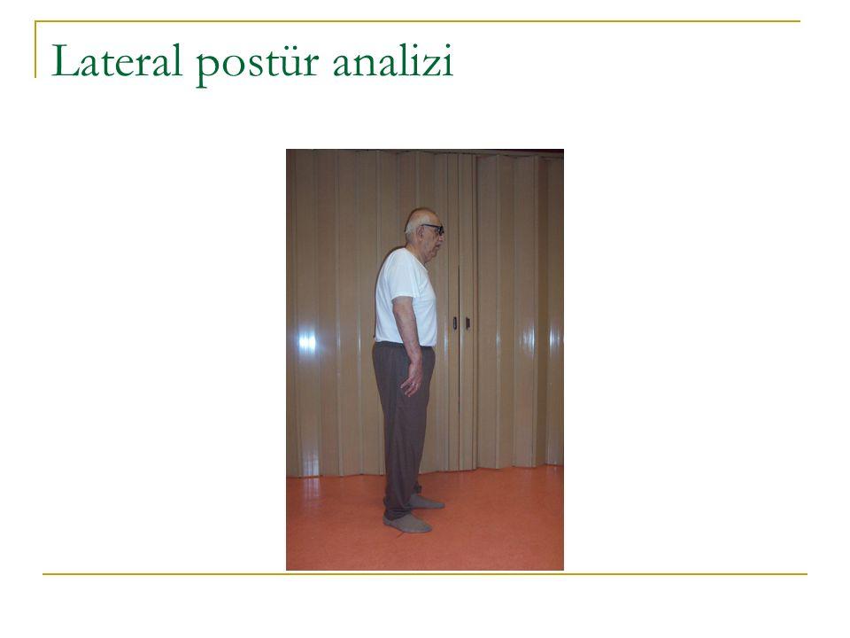 Lateral postür analizi