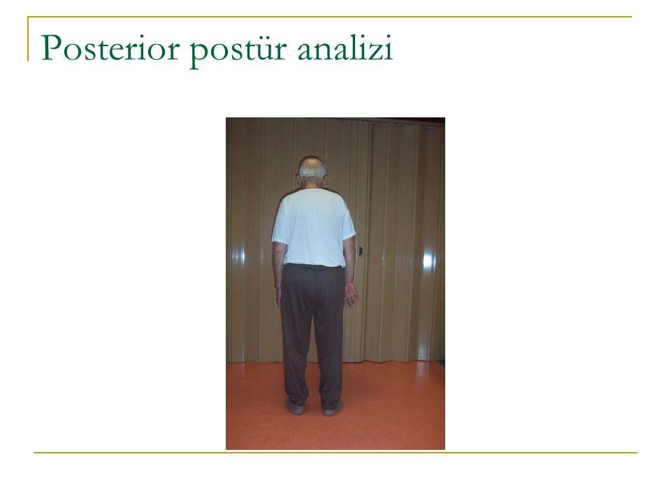 Posterior postür analizi