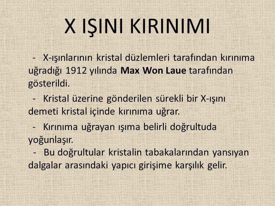 X IŞINI KIRINIMI