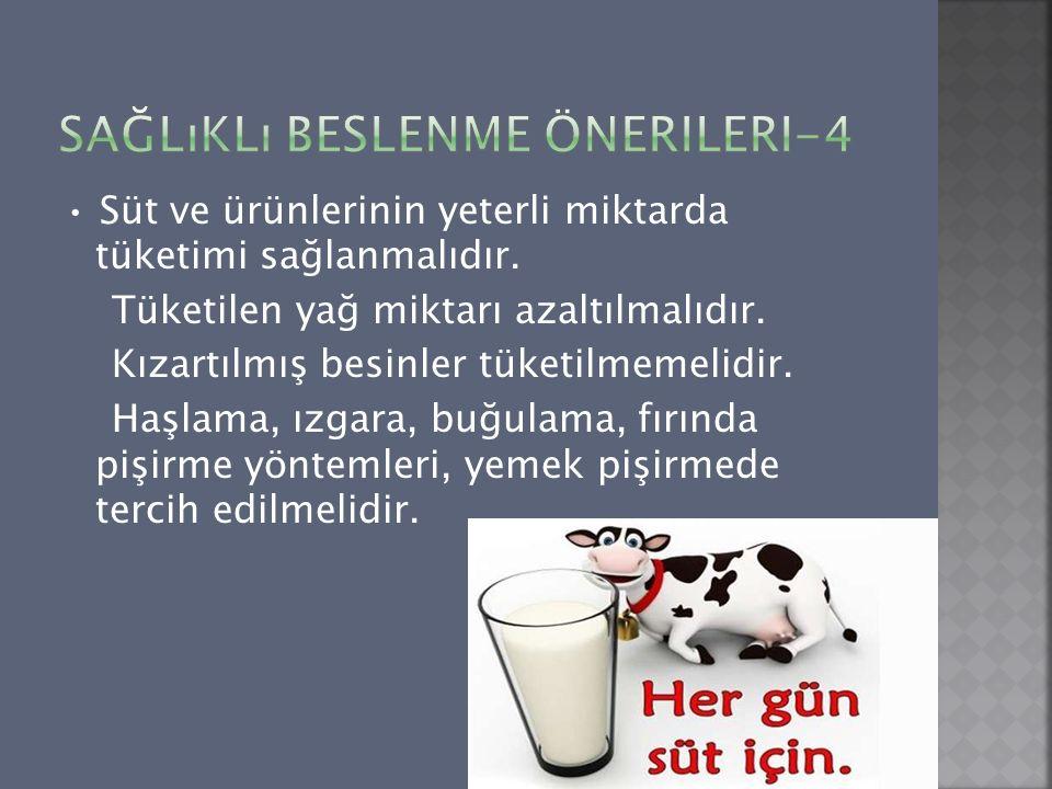 Sağlıklı Beslenme Önerileri-4