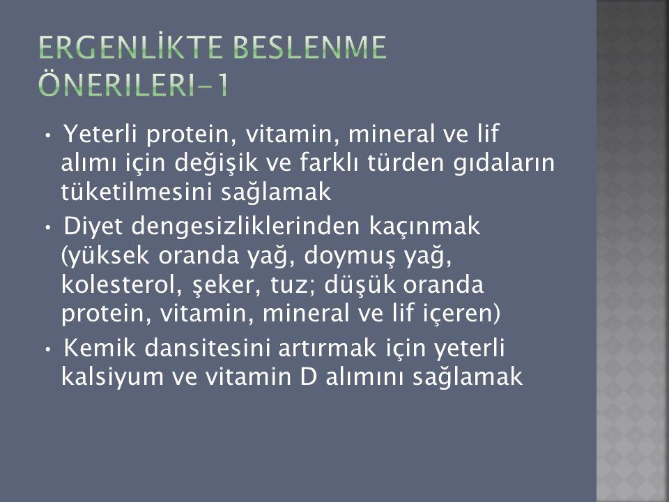 ERGENLİKTE Beslenme Önerileri-1
