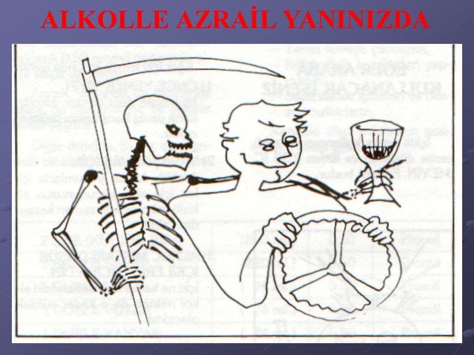 ALKOLLE AZRAİL YANINIZDA