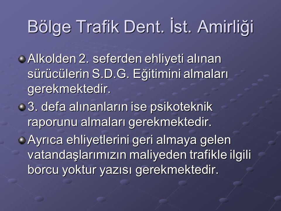 Bölge Trafik Dent. İst. Amirliği