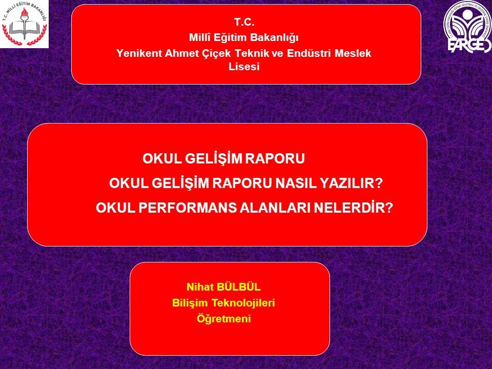 T.C. Millî Eğitim Bakanlığı. Yenikent Ahmet Çiçek Teknik ve Endüstri Meslek Lisesi.