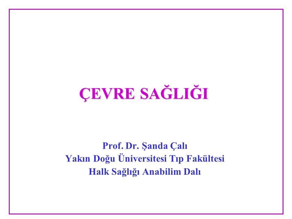 Yakın Doğu Üniversitesi Tıp Fakültesi Halk Sağlığı Anabilim Dalı