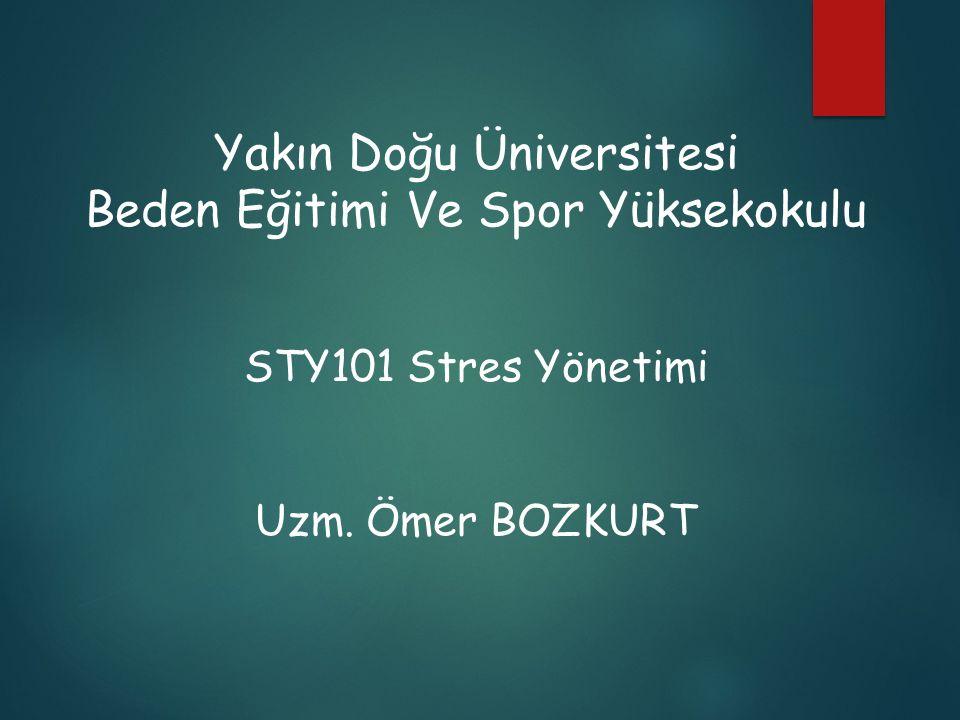 Yakın Doğu Üniversitesi Beden Eğitimi Ve Spor Yüksekokulu