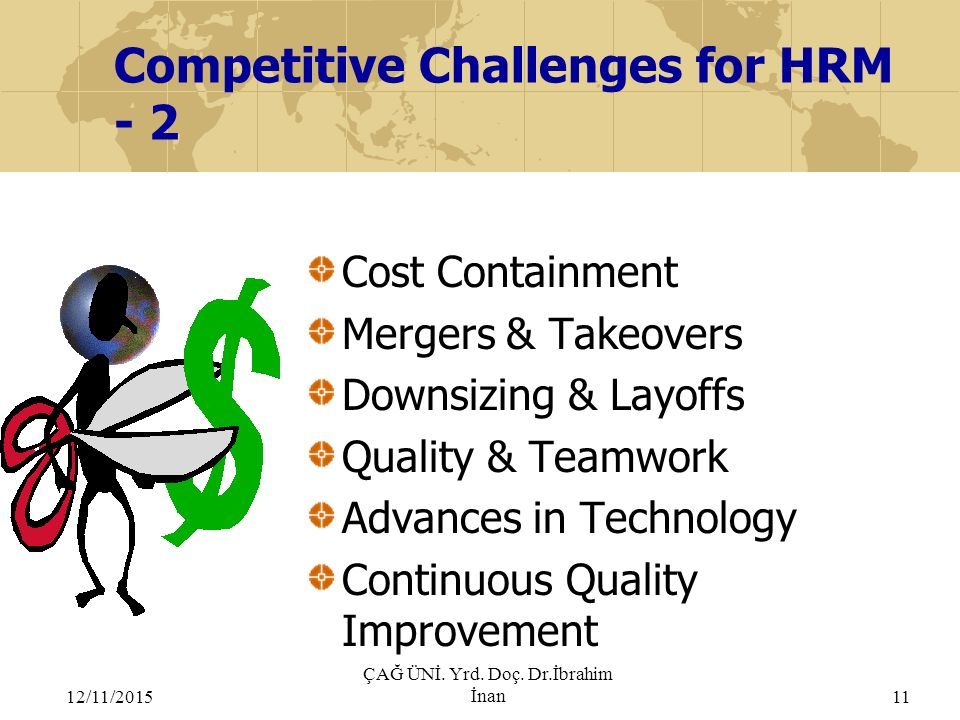 Competitive Challenges for HRM - 2