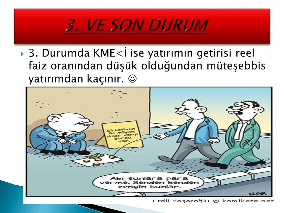 3. VE SON DURUM 3.