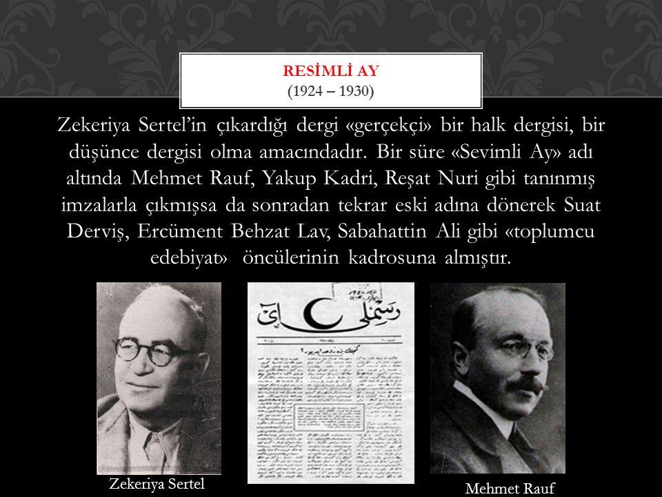 Resİmlİ Ay (1924 – 1930)