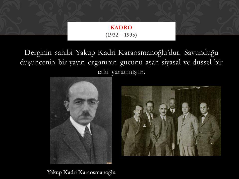 Kadro (1932 – 1935)