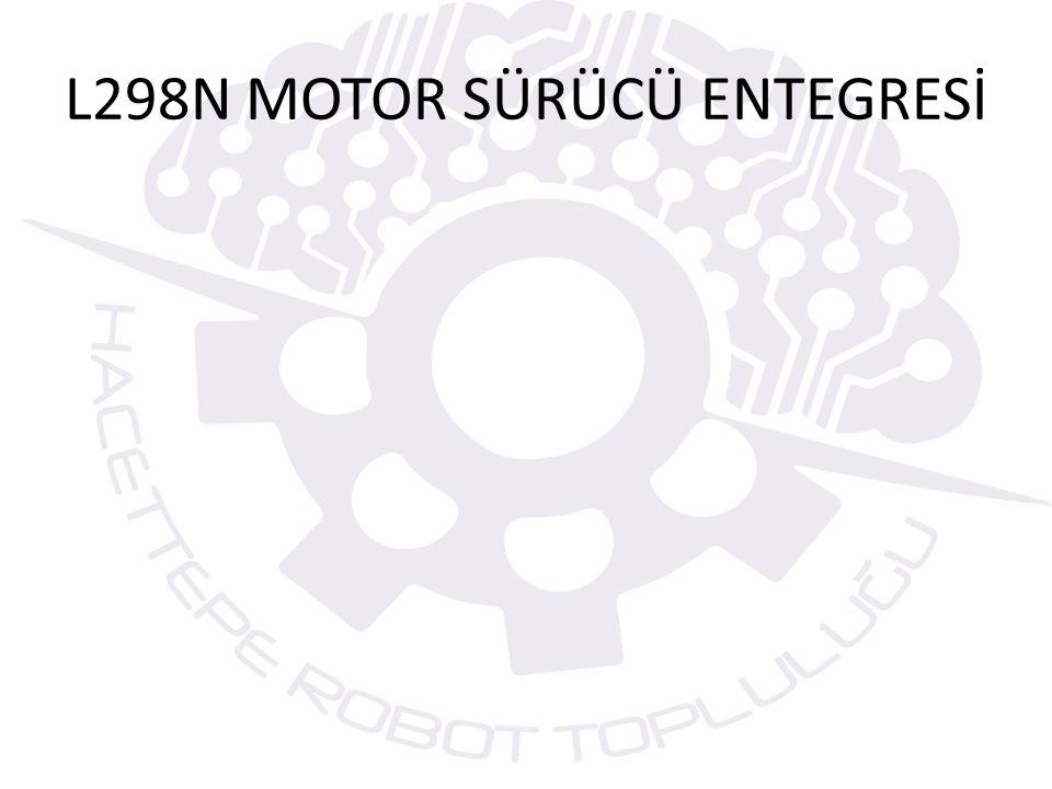 L298N MOTOR SÜRÜCÜ ENTEGRESİ