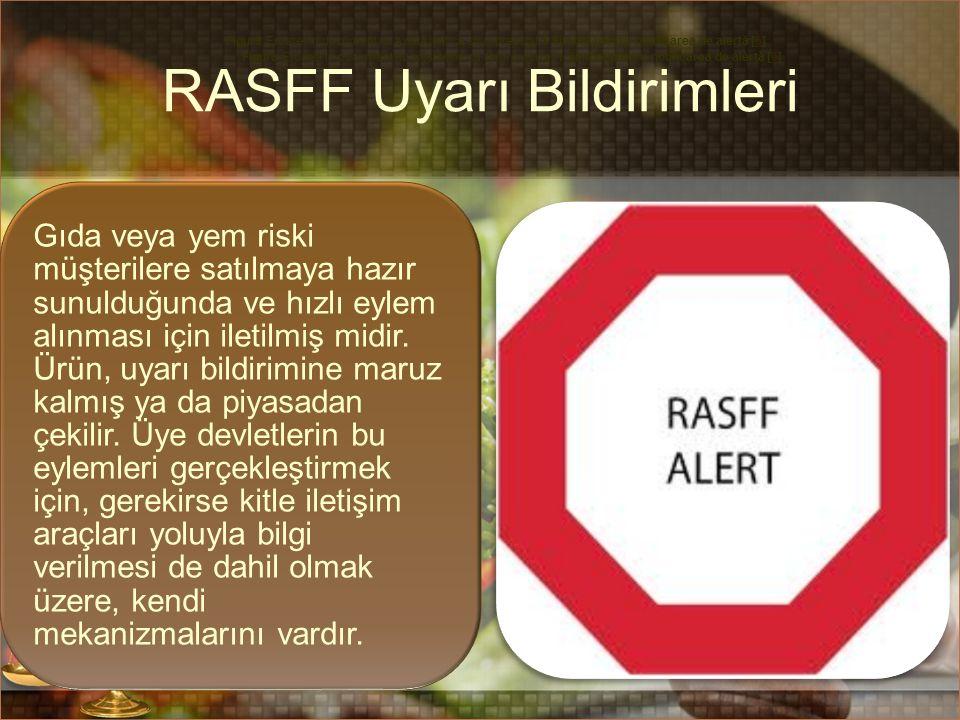 RASFF Uyarı Bildirimleri