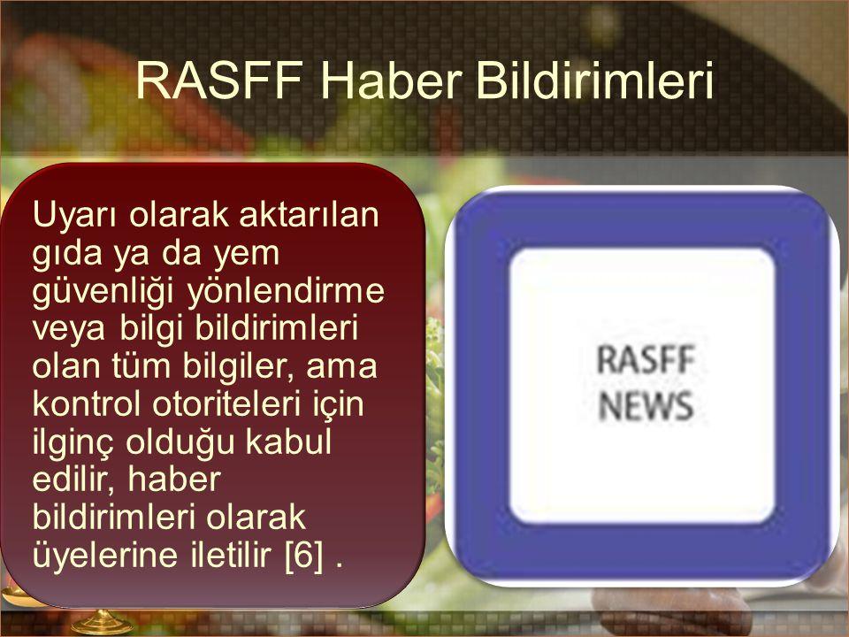RASFF Haber Bildirimleri