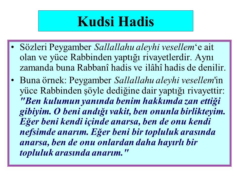 Kudsi Hadis