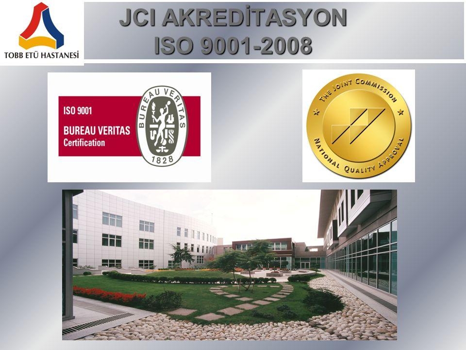 JCI AKREDİTASYON ISO 9001-2008