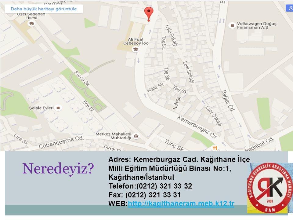 Adres: Kemerburgaz Cad