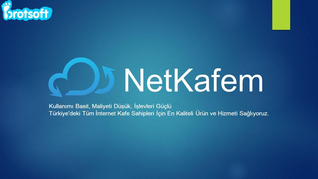 NetKafem Kullanımı Basit, Maliyeti Düşük, İşlevleri Güçlü