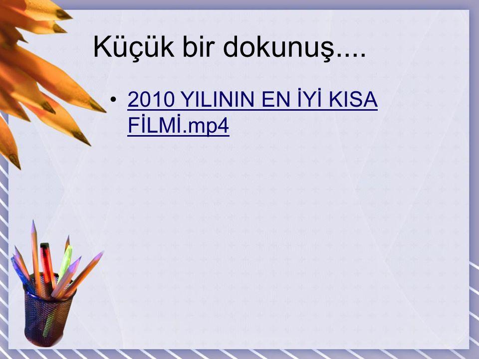 Küçük bir dokunuş.... 2010 YILININ EN İYİ KISA FİLMİ.mp4