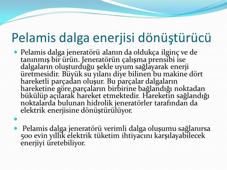 Pelamis dalga enerjisi dönüştürücü