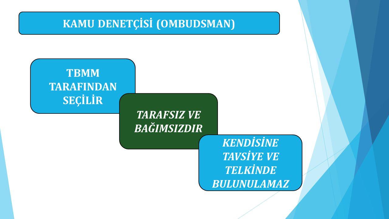 KAMU DENETÇİSİ (OMBUDSMAN)