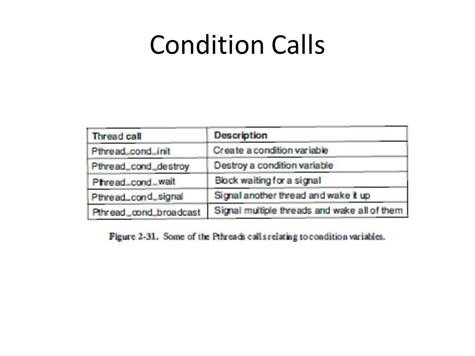 Condition Calls