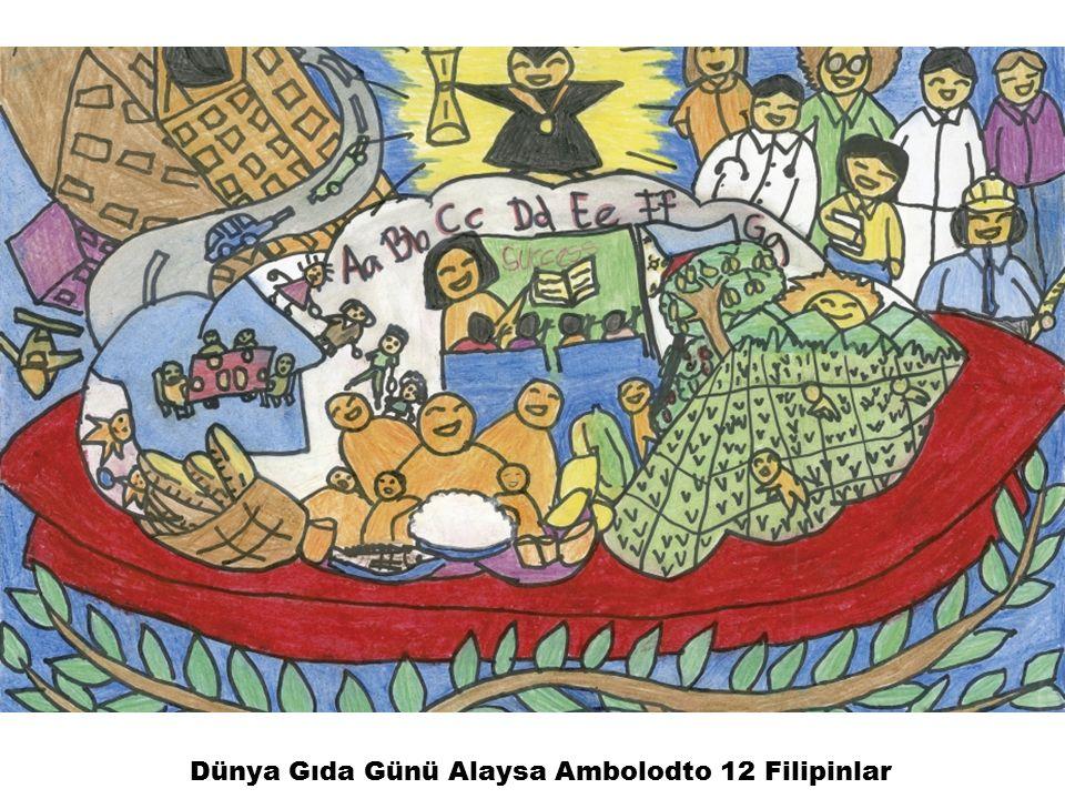 Dünya Gıda Günü Alaysa Ambolodto 12 Filipinlar