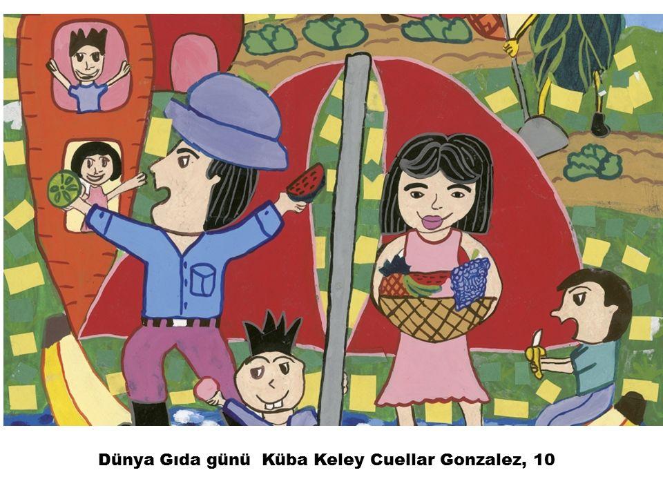 Dünya Gıda günü Küba Keley Cuellar Gonzalez, 10