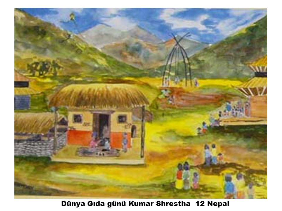 Dünya Gıda günü Kumar Shrestha 12 Nepal